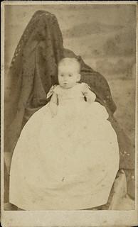 Ella Grace Brown Burdick - Hidden Mother CDV