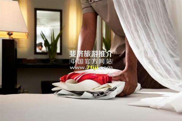 斐济沃莫岛度假酒店(Vomo Island Resort)洗衣服务