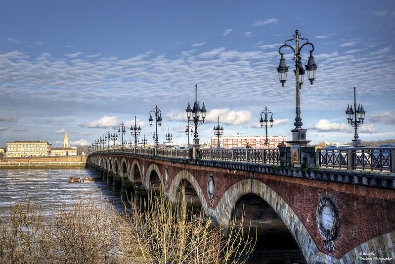 Le Pont de Pierre sur la Garonne (IV). Bordeaux (Explore Feb 17, 2014 #219)