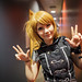 Small photo of AKB0048 dancer girl at backstage.