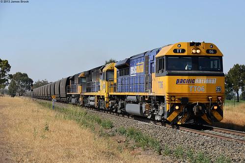 TT06, 9206 and TT103 at Parkville