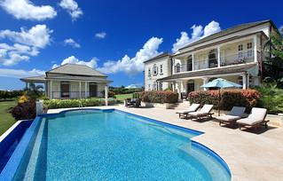 Custom design villa at Royal Westmoreland estate, Barbados