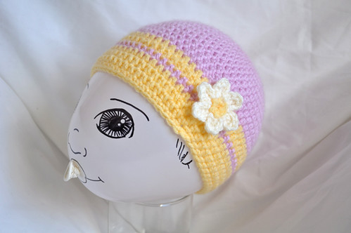 Winter Baby Crochet Hat