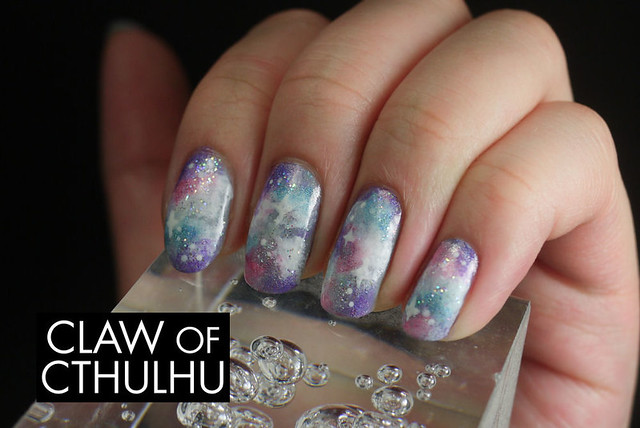 Bestie Nail Art Challenge - Week Two: Galaxies