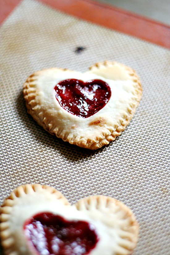 Strawberry Balsamic Mini-Pies