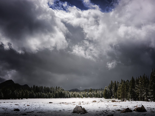Hole in a Summer Storm, Tuolumne Meadows