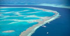 lagoon, atoll, sea, ocean, bay, island, azure, wind wave, caribbean, coast,