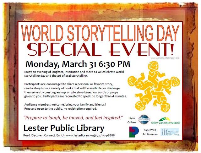 World Storytelling Day