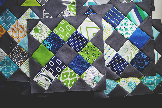 Granny Square Quilt blocks