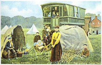 Hoppers caravan