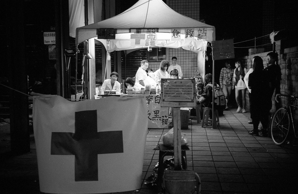 Leica Minilux 太陽花學運