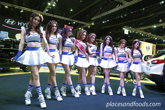 bangkok international motorshow hyundai girls