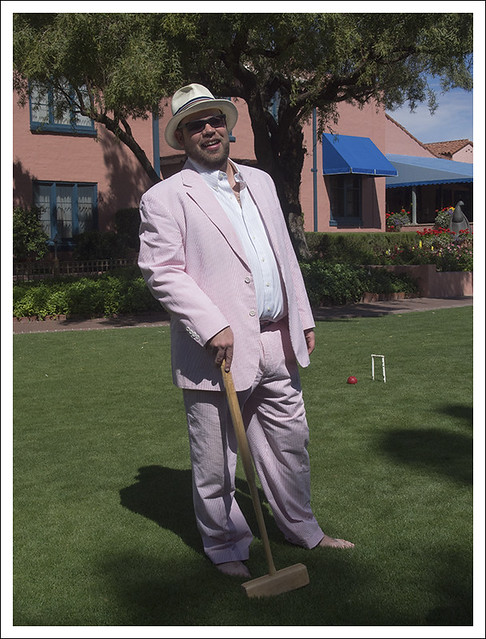 Croquet At The Arizona Inn