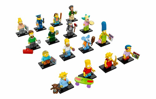 71005 LEGO Minifigures The LEGO Simpsons Series 01