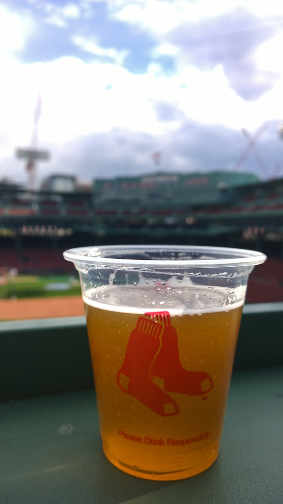 Beer on the Green Monster