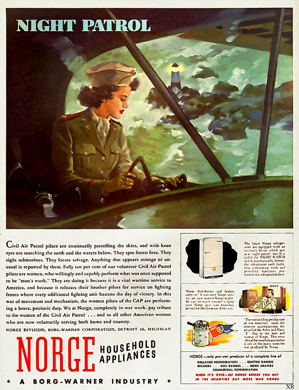 1943 ... flying refrigerators!