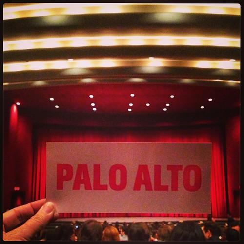 Palo Alto LA Premiere, a Flux event