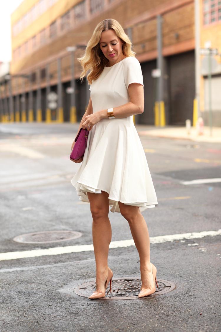 White Dresses & Warm Days | Brooklyn Blonde