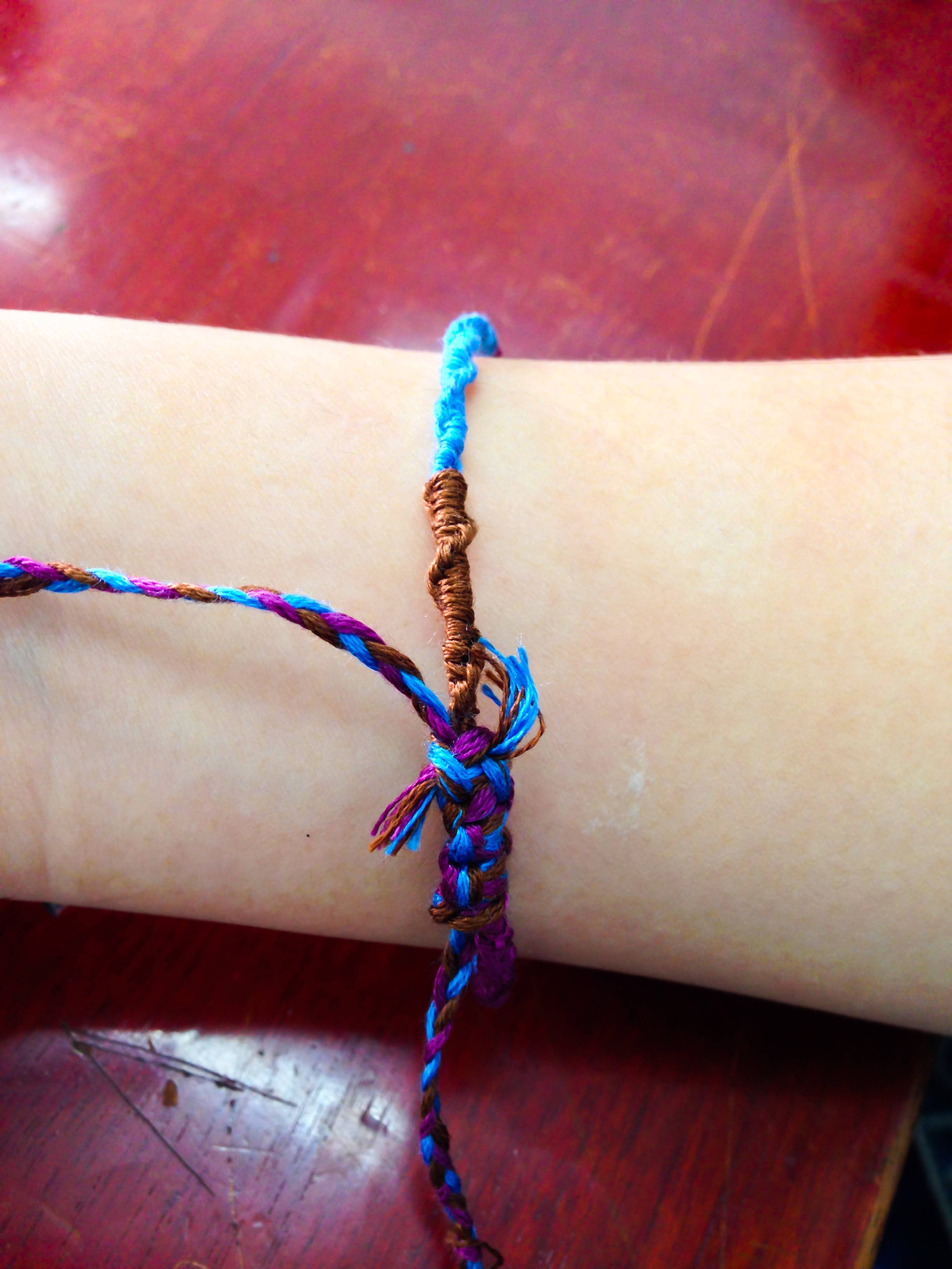 make bracelet cotton wax braided a korean cord how to using step korea