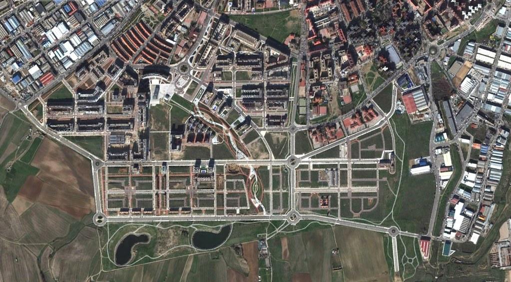 móstoles, madrid, homenaje a las elecciones griegas, después, urbanismo, planeamiento, urbano, desastre, urbanístico, construcción, rotondas, carretera
