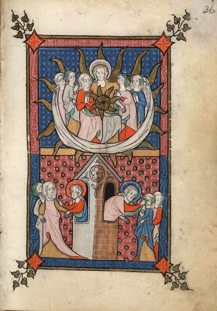 005-f. 36r-Rothschild Canticles MS 404- Beinecke Rare Book Manuscript Library