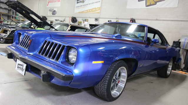 1975 Blue Grand Am Restoration