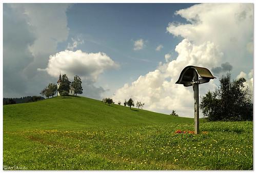 church clouds landscape spring slovenia škofjaloka aviana2 praprotno sony7 sonyilce7 svtomaž