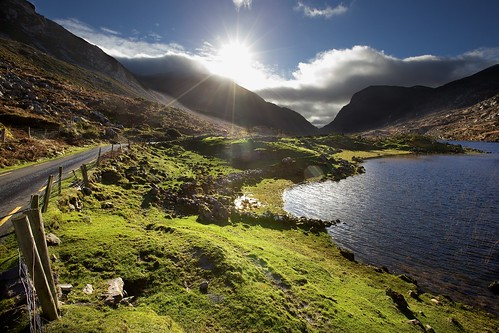 ireland winter landscape lakes kerry killarney gapofdunloe cokerry