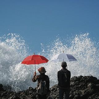 Ritual memanggil ombak | Siung beach