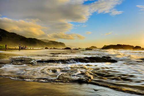 sky sunlight beach sunrise waves taiwan ilan 台灣 宜蘭 eastcoast toucheng 東北角海岸 頭城 waiao 外澳