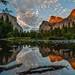 Valley View Calm Evening Reflection by Jeffrey Sullivan