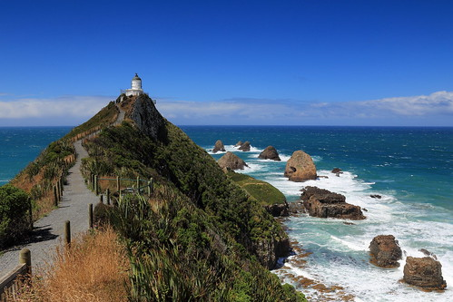 newzealand lighthouse landscape coast nz catlins ndgrad absolutelystunningscapes