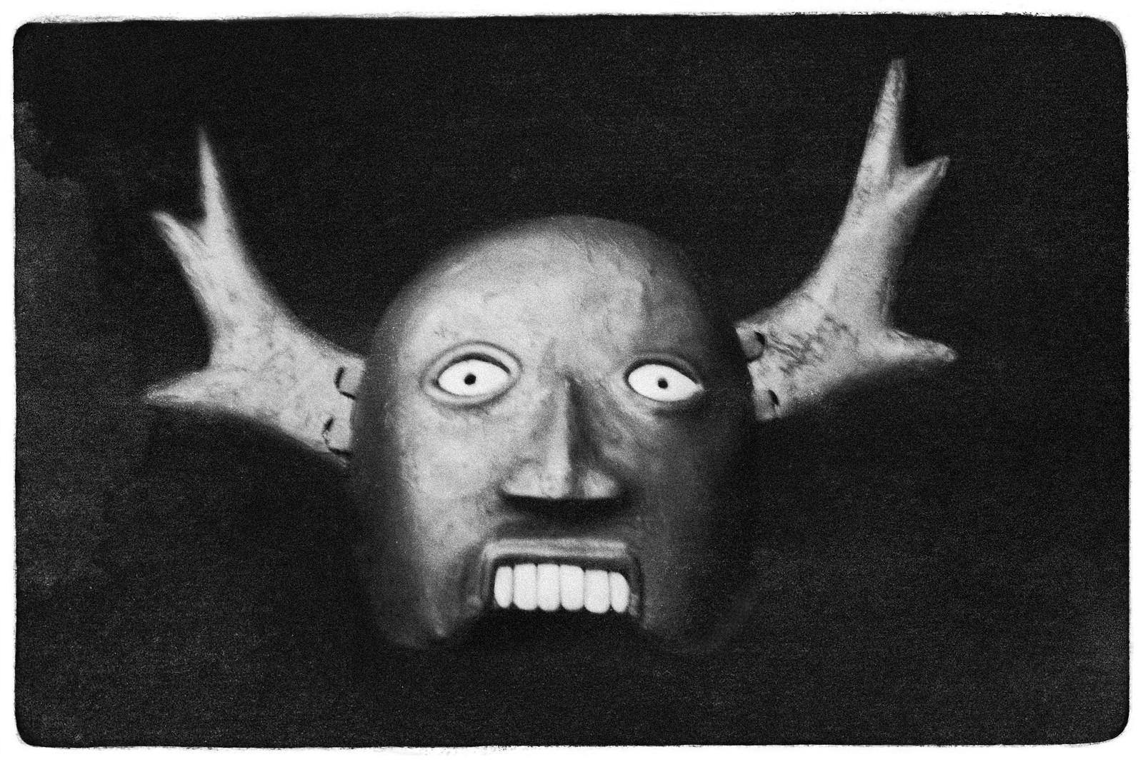 Replica Wooden Mask, Etowah Mounds