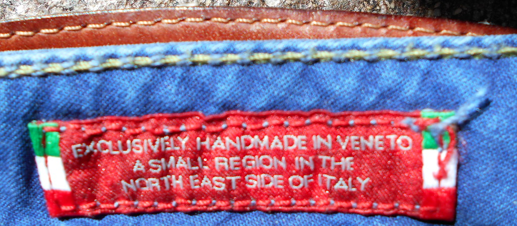 exclusively handmade in Veneto - a small region in the north east side of Italy