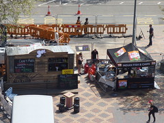 International Dance Festival Birmingham 2016 - Centenary Square - Craft Ales and Indian Fish & Chips