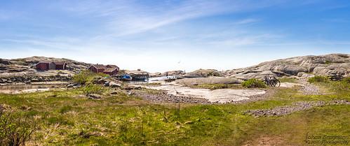 sea sky panorama seascape water berg landscape coast nikon sweden himmel sverige nikkor bohuslän landskap klippor tjurpannan d7200 bohuskusten