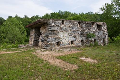 Glendale Mill ruins - 17