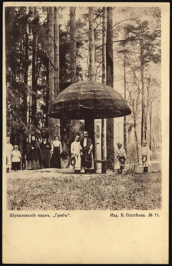 "Шуваловский парк. ""Гриб"". 1904 _1"