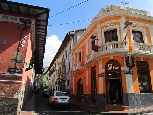 Quito et ses rues colorées