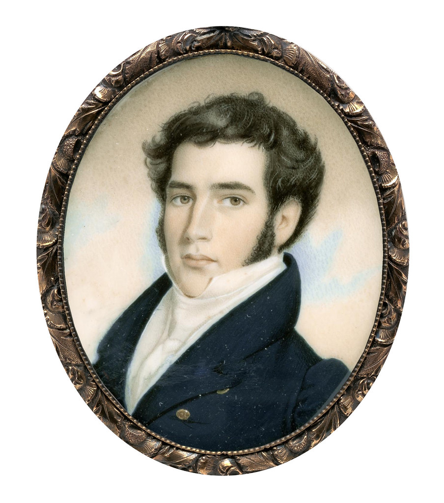 Portrait of a Man by Nathaniel Jocelyn, 1830