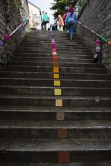 Yarn bombing Besançon 59