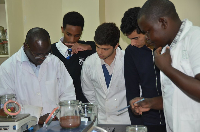Students from Braeburn High School Visited the Mazingira Centre