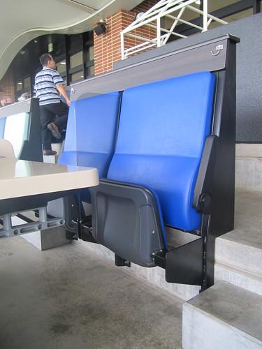 函館競馬場の指定席座席