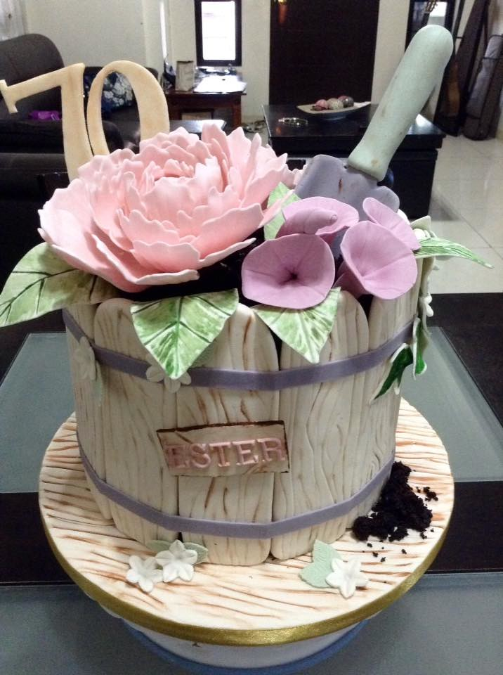 Flower Bucket by Donna Laygo-Mendoza of Tia Dory's Kitchen