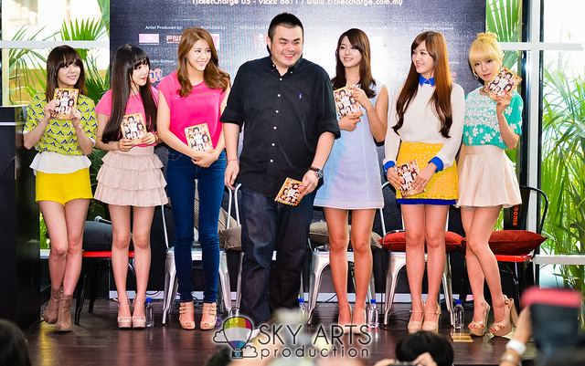 Ace of Angels #AOA @ Asia Super Showcase Press Con Renoma Cafe Gallery