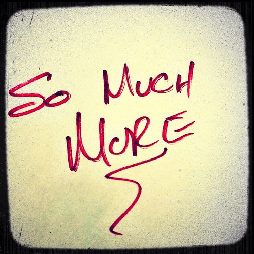 So much more by Damian Gadal