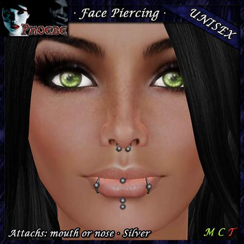 P Temptation Silver Piercing ~Unisex~