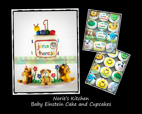 Norie's Kitchen - Baby Einstein Cake by Norie's Kitchen