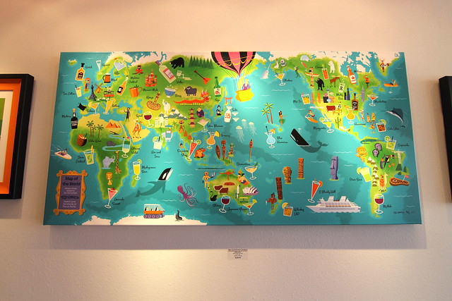 Map of the World from Flickr via Wylio