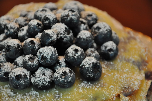Sugared Blueberries